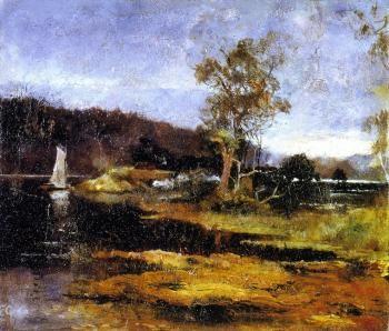 Low Tide, Hawkesbury River - Charles Conder
