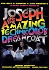 Image result for joseph and his technicolour dreamcoat programme