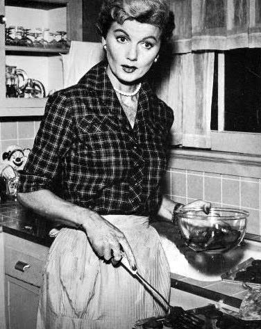 june cleaver.... Wally and the Beav's mom     love her!