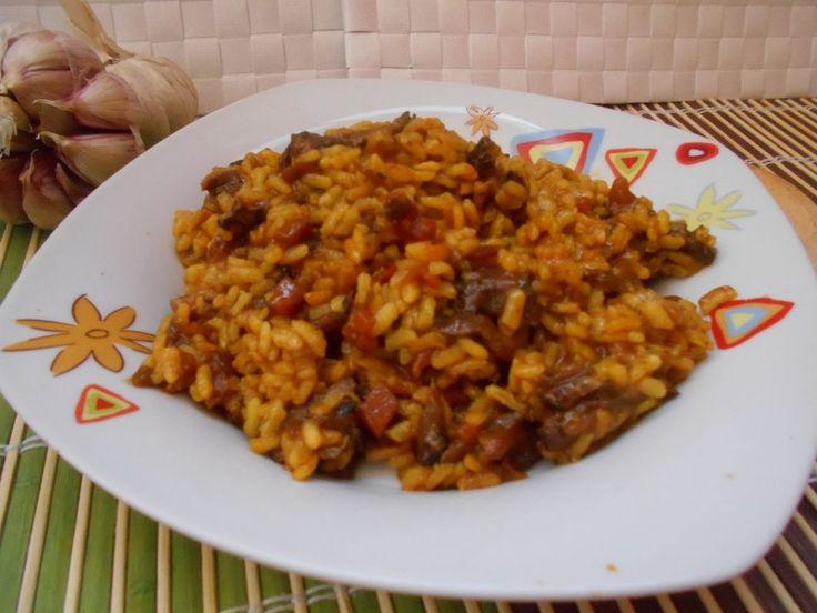 697° receta: ARROZ MELOSO DE RABO DE TERNERA - Mayte en la cocina