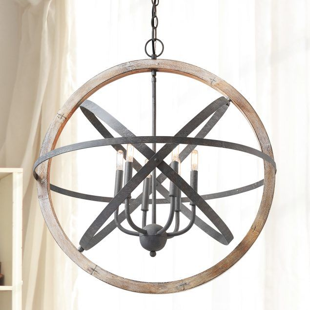 6 Light Pendant Capital Lighting Wood Pendant Light Pendant