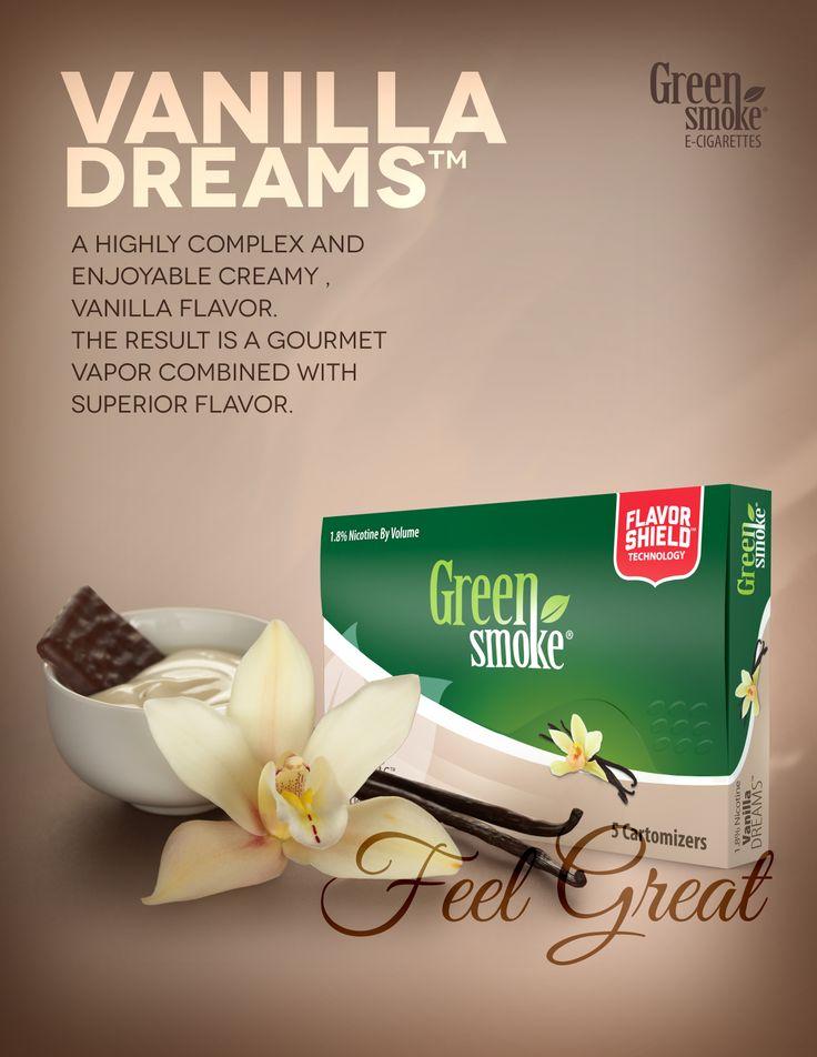 Vanilla Dream: Patīkami salda un krēmaina garša ekselents tvaiks, un izcila smarža.
