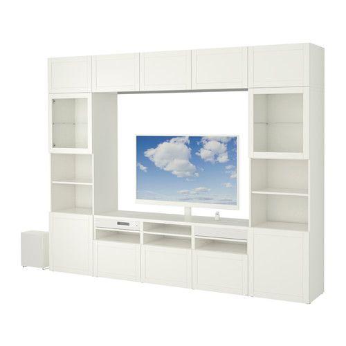 best uppleva kombinasjon tv 55 2 1 lydsystem hanviken sindvik hvit klart glass. Black Bedroom Furniture Sets. Home Design Ideas