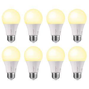 10. Sengled A19 Dimmable Smart Light Bulbs (8 Pack)