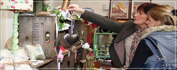Shabby Chic Vintage Antique Flea Market | South Molton Pannier Market North Devon | Smythen Farm Holiday Cottages