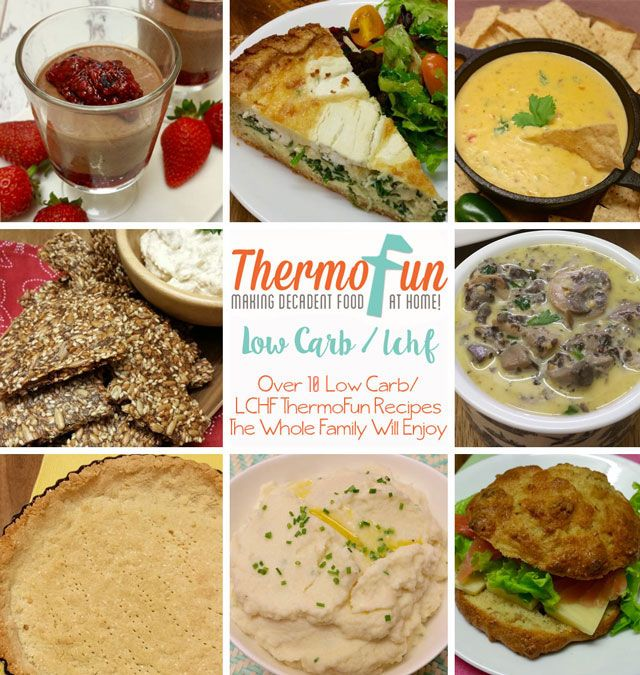 Thermomix LCHF - Low Carb Recipes - ThermoFun | Thermomix Recipes