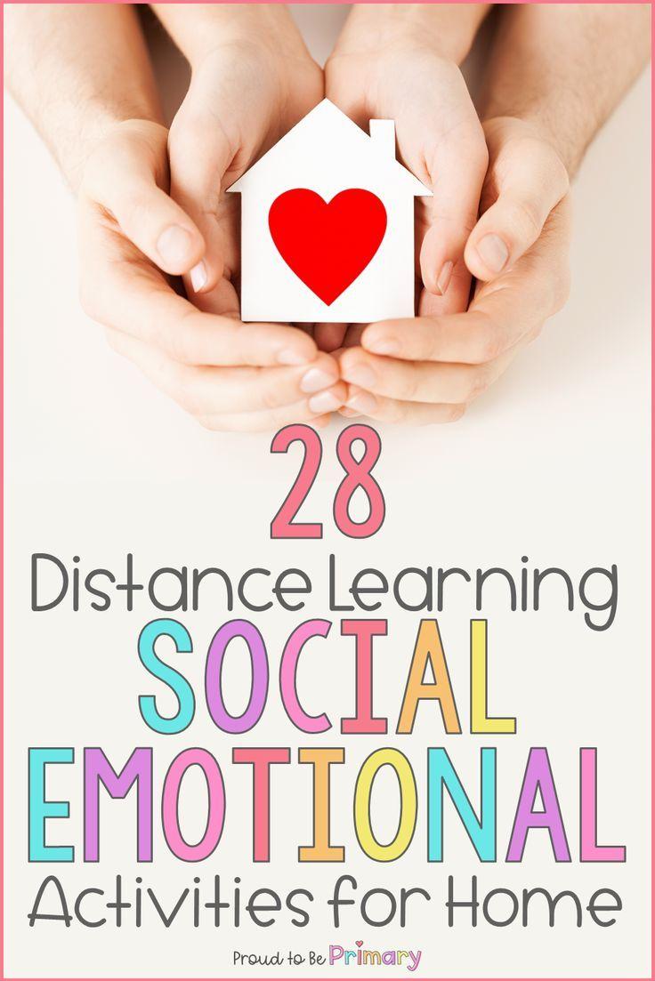 28 Social Emotional Activities That Support Distance Learning At Home Social Emotional Activities Social Emotional Learning Activities Social Emotional Activities Preschool