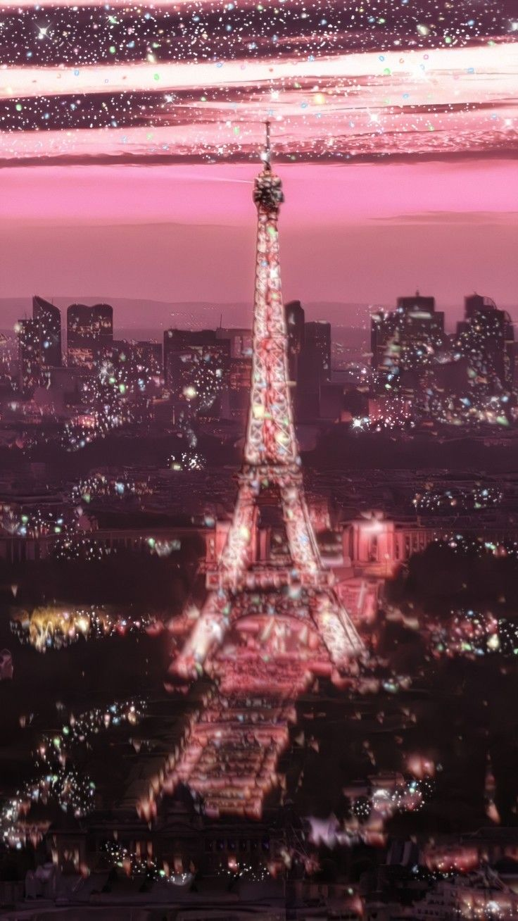 ƒsℓℓsw ƒsɾ ɱsɾe Background Aesthetic Backgrounds Aestheticbackground Glitter Cute N Paris Wallpaper Picture Collage Wall Eiffel Tower Art
