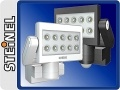 Reflektory LED z czujnikiem ruchu Steinel Xled 10  - czarny Jedyny w swoim rodzaju reflektor z diodami LED o mocy 25W .Moc światła porównywalna do żarówki halogenowej 100W Czujnik z opcją watt-o-matic oraz światła stałego przez 4 godz. Kolor czarny całkowity strumień świetlny - 783lm pozostałe dane techniczne na zdjęciu w galerii . Termin realizacji : 2 - 14 dni $390