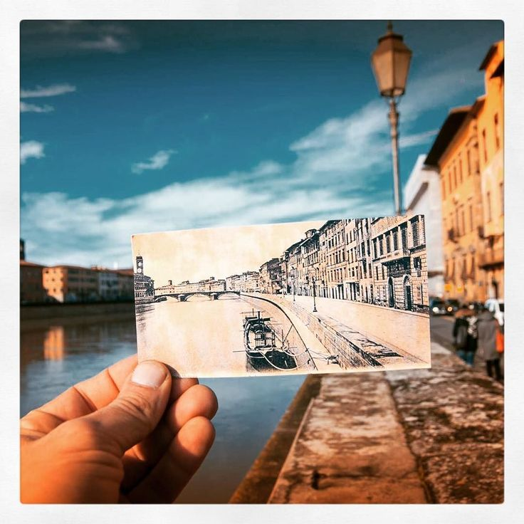 Non proprio come un tempo.. Ma sempre belli sono i nostri Lungarni. #lungarno #pisa #sketch #drawing #igerspisa #visitpisa #tuscany #igtuscany  by fotograficapisa