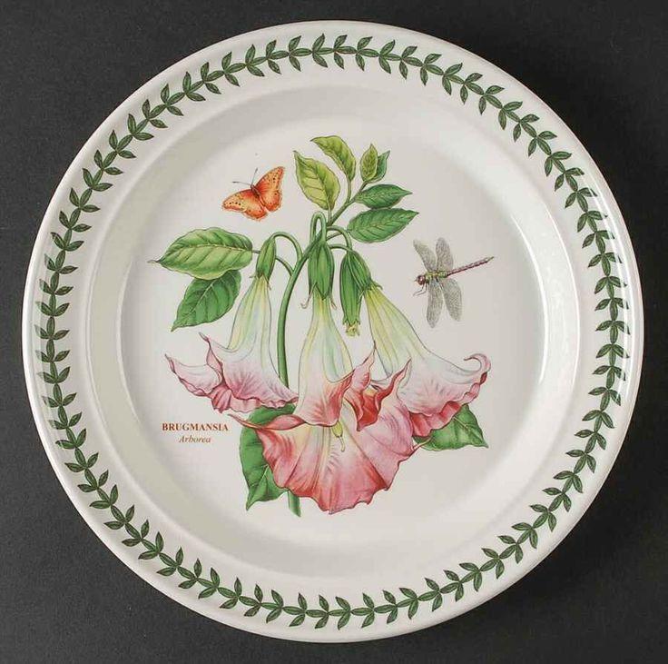Portmeirion Exotic Botanic Garden Arborea Dinner Plate 10003085 Exotic Dinners And Gardens