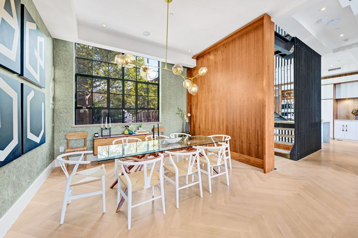 Ridiculously lavish Carroll Gardens townhouse seeks $10M - Curbed NYclockmenumore-arrow : The townhouse comes with a Tesla charging station, a sauna, and an elevator