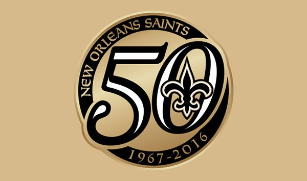 New Orleans Saints to celebrate 50th season in 2016. On November 1, 1966, the National Football League awarded the 16th franchise to New Orleans. On January 9, 1967, the franchise was named the Saints. Just over eight months later on September 17, 1967, the Saints first kicked off in the regular season at Tulane Stadium in front of 80,879 fans in a 27-13 loss to the Los Angeles Rams, in a contest where RB John Gilliam returned the opening kickoff 94 yards for a touchdown.