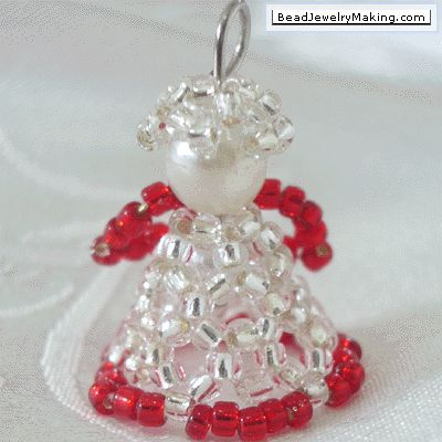 Beaded Christmas Angel - Bead Jewelry Making - Christmas Special