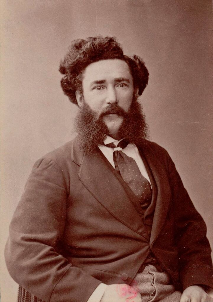 Henri Sivel (1834-75), balloonist. Killed in the 'Zenith' hot-air balloon crash with fellow balloonist Joseph Crocé-Spinelli. It had flown 28,000 feet when they both fainted. A third companion, Gaston Tissandier, survived.