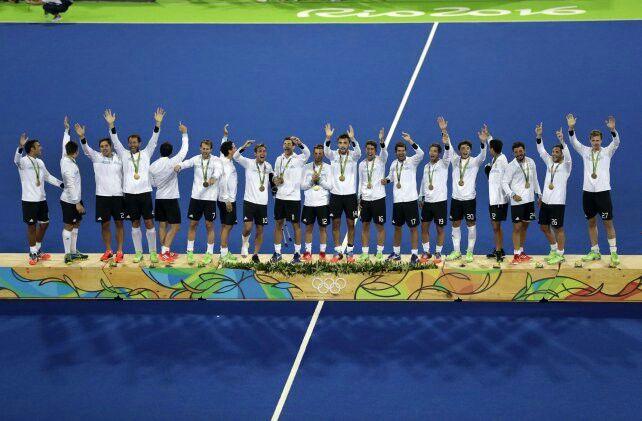 Hockey Masculino sobre cesped . Medalla de Oro . Juegos  Olimpicos Rio 2016