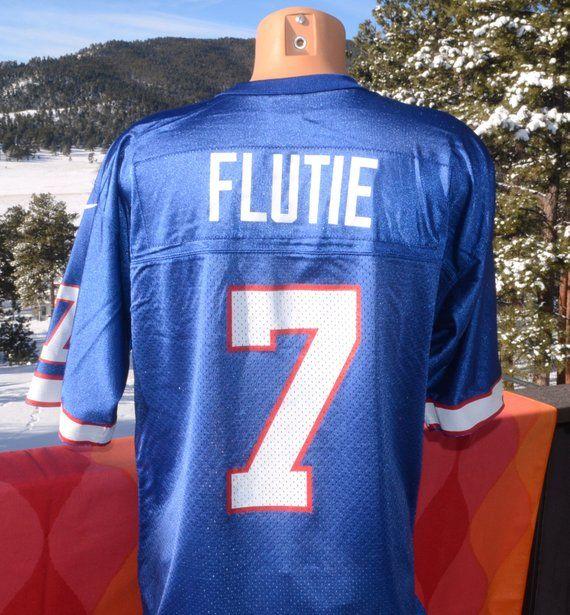 outlet store 88398 3b3b0 vintage 90s buffalo BILLS football jersey nfl doug flutie 7 ...