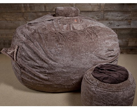 It's the ultimate bean bag for grown up.  give me a great movie and nothing to do and it's sold!