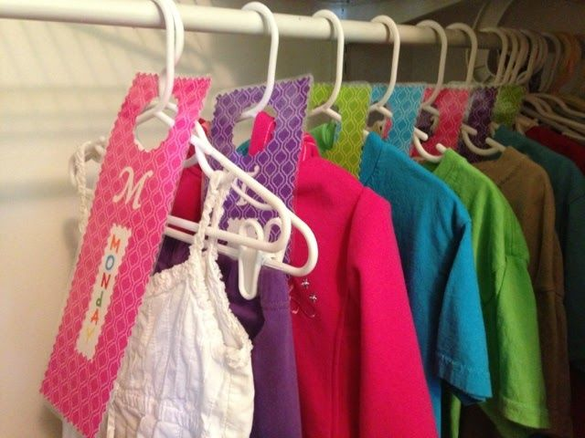 7 best Day of the week hangers images on Pinterest | The hanger ...