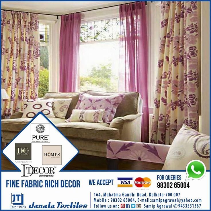 Delicieux Sweet Window Curtain Design Ideas Pink Color Soft: 16 Beautiful Curtains  Design For Living Room Decoration