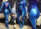 [SELF] Samus Zero suit I made for my gf