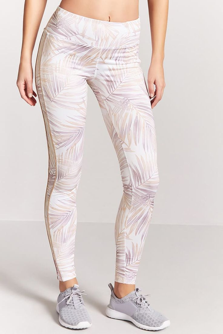 Product Name:Active Leaf Print Leggings, Category:Activewear, Price:22.9
