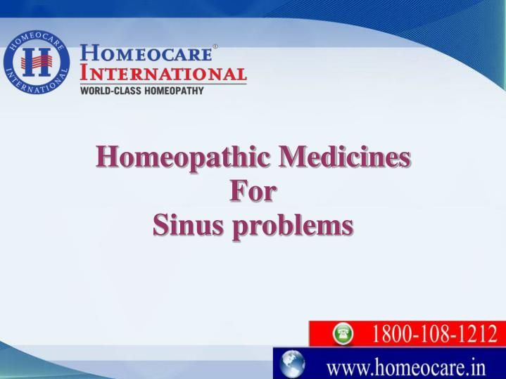 Sinusitis refers to an irritation of the sinuses. These are classified into two types acute and chronic sinusitis. Acute sinusitis lasts for less than four weeks and Chronic sinusitis lasts for more than 12 weeks. Natural Homeopathy is an incredibly safe, gentle and effective in the treatment of both acute and chronic sinusitis at Homeocare International. Homeopathic remedies helps to reduce symptoms of nasal congestion, headache, facial pain and nasal stuffiness.