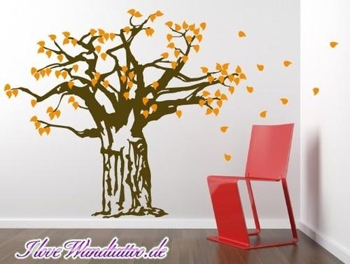 Baobab Wall Sticker from I Love Wandtattoo #baobab #wallsticker