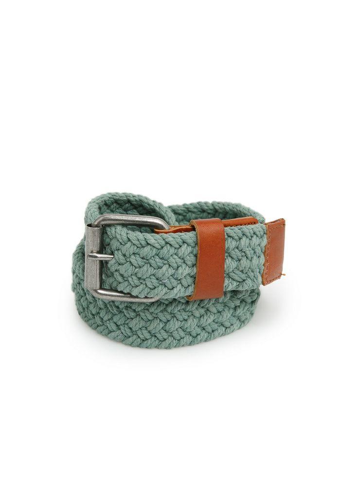 Braided cotton belt REF. 23093521 - Trenza c VND749,000 Colour: Green