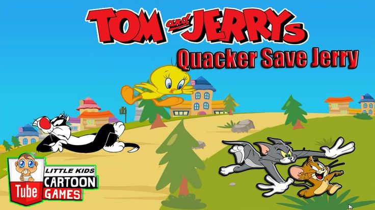 Fun Games. Tom and Jerry 2017. Tom and Jerry - Quacker Save Jerry. Baby ...