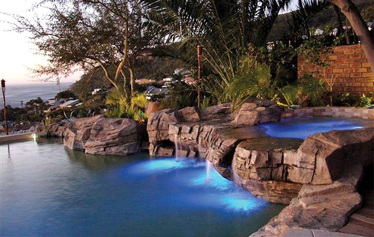 Unique rock spa pool experience, Cape Town