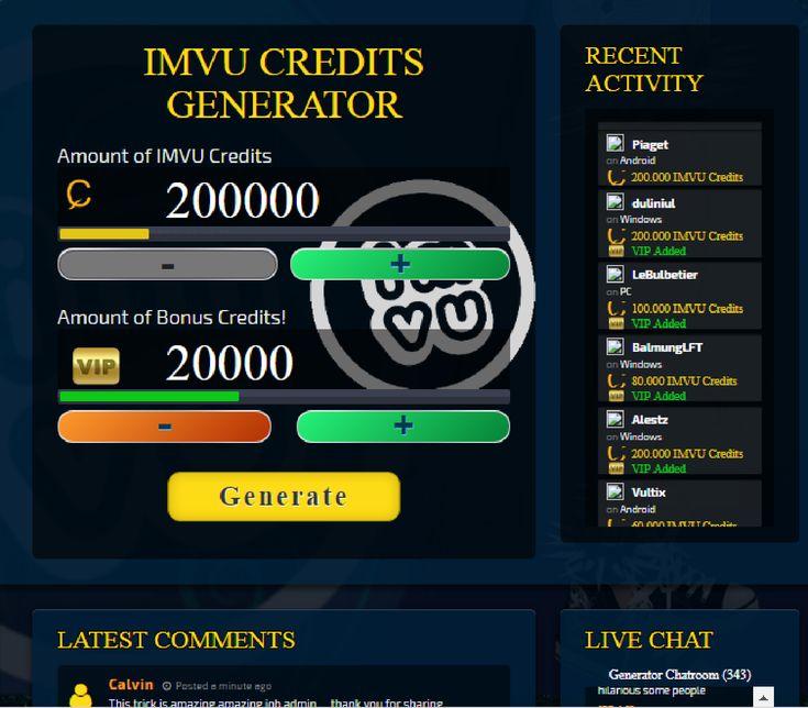 Http imvu-credits-hack.online