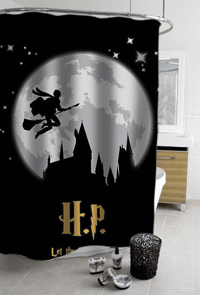 Image result for harry potter shower curtain
