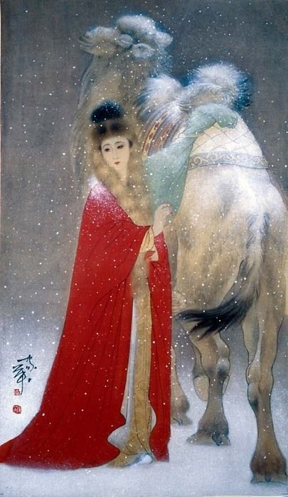 hejiaying sijiChine Art, Traditional Chinese, Oriental Painting, Hejiay Siji, Art Asian, Chinese Painting, Artworkuzak Doğu, Chine Painting, Asian Art