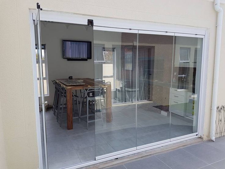 Another happy customer fitting our Sunflex Frameless Glass Sliding Door Systems. Contact us today  & 13 best SUNFLEX Folding / Sliding Glass Door u0026 Wall Systems images ...