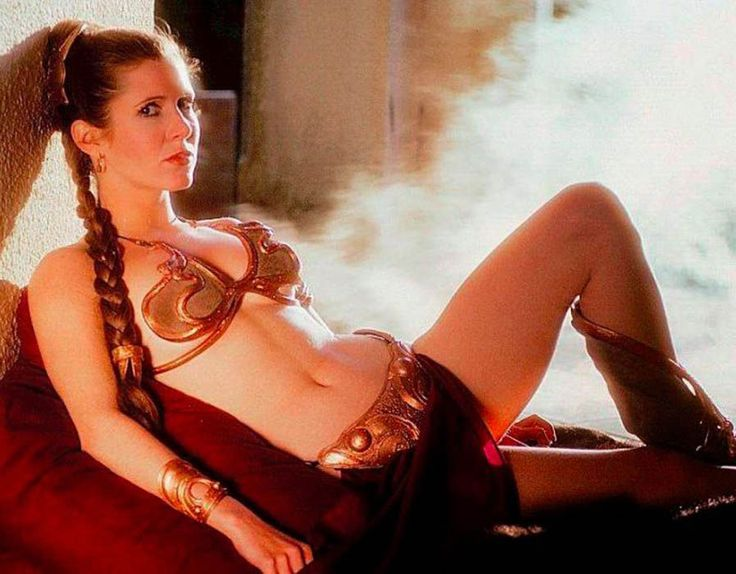 I see your Shakira Sofia Vergara and Salma Hayek and raise you Carrie Fisher '83