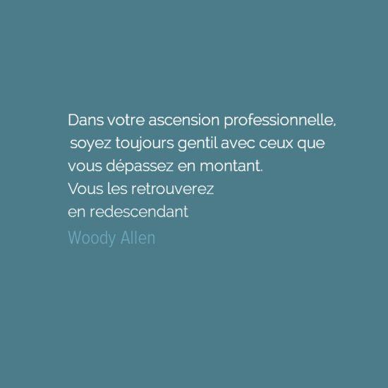 Citation de Woody Allen - Le Petit Érudit