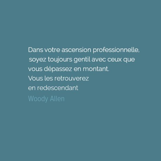 Citation de Woody Allen - Le Petit Érudit