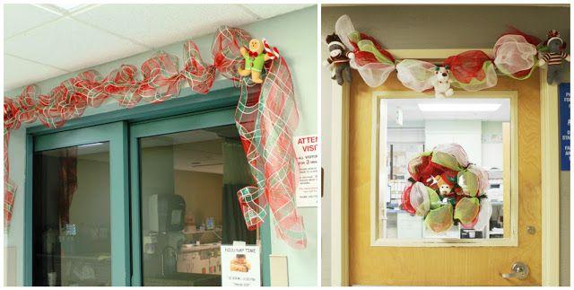 Cómo decorar en navidad con guirnaldas de mallas ~ cositasconmesh