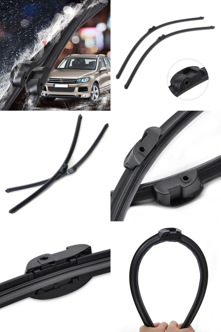 visit to buy 2pcs 26 frameless rubber rain window windshield wiper blade for