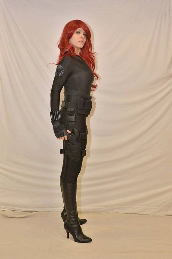 how to make a black widow costume avengers