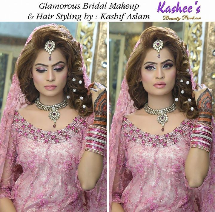 Glamorous makeover by kashif Aslam