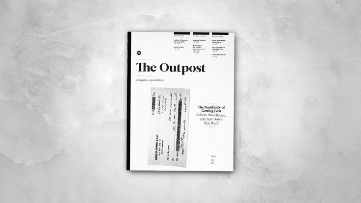The Outpost - Issue 3