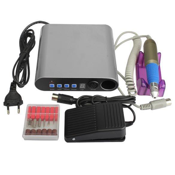 best price pro electric nail file drill bit manicure kits nail art pedicure machine set sanding band #drill #bit #sizes