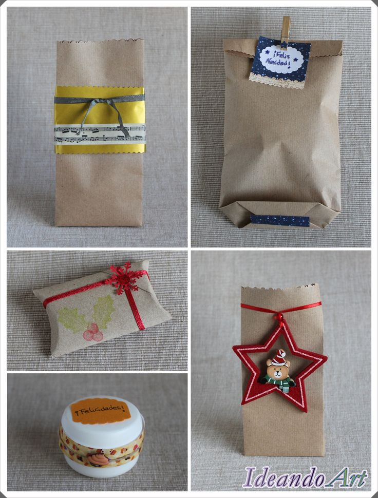 Ideas de packaging craft by IdeandoArt