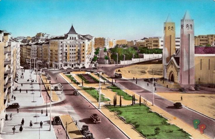 Praça de Londres e Av. Guerra Junqueiro www.portugalempostais.com