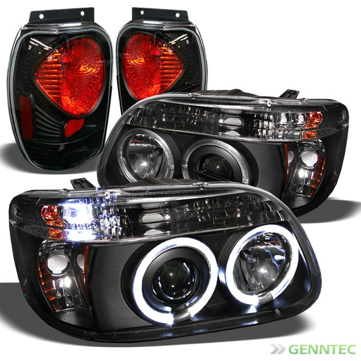 For 1998 2001 Ford Explorer Halo Led Projector Headlights