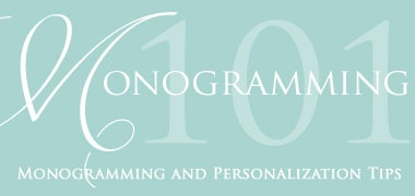 Cheap Monogrammed Gifts | The Piggy Tales