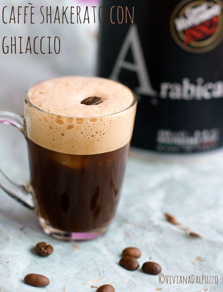 caffè shakerato con ghiaccio - iced coffee