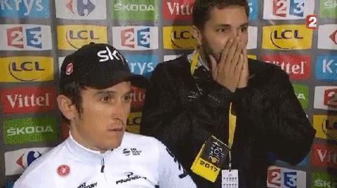 cycling tour de france cyclisme time trial geraint thomas contre la montre via diggita